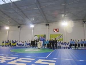 Inauguração da reabilitação do Pavilhão Gimnodesportivo de Santa Cruz das Flores.
