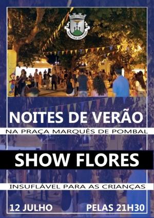 Noites de Verão na Praça Marquês de Pombal dia 12 de julho pelas 21:30h