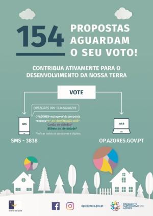OP Açores apelo ao voto