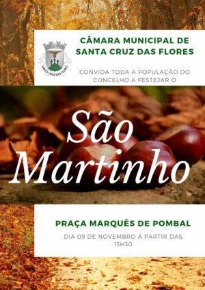 Câmara Municipal de Santa Cruz das Flores comemora o dia de São Martinho