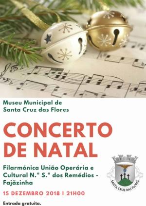 Concerto de Natal no dia 15 de dezembro no Museu Municipal