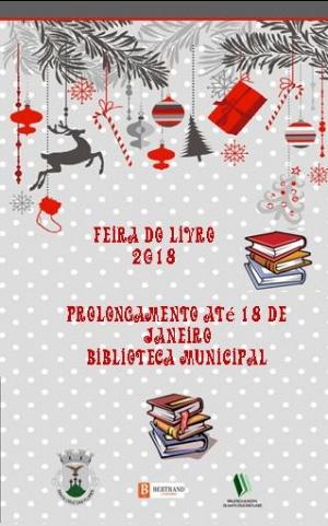 Feira do Livro prolongada até dia 18 de janeiro na Biblioteca Municipal