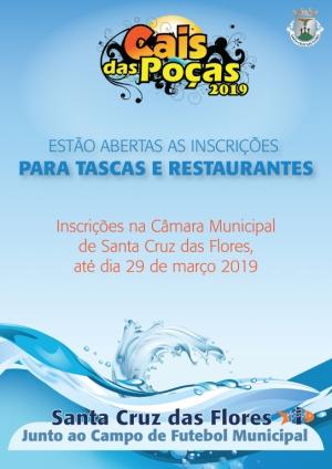 Inscrições para as Tascas Cais das Poças 2019