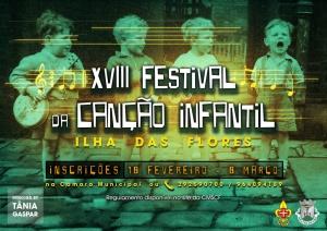 Inscrições para o XVIII Festival da Canção Infantil