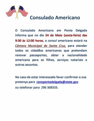 Visita consulado Americano Santa Cruz Flores 2019